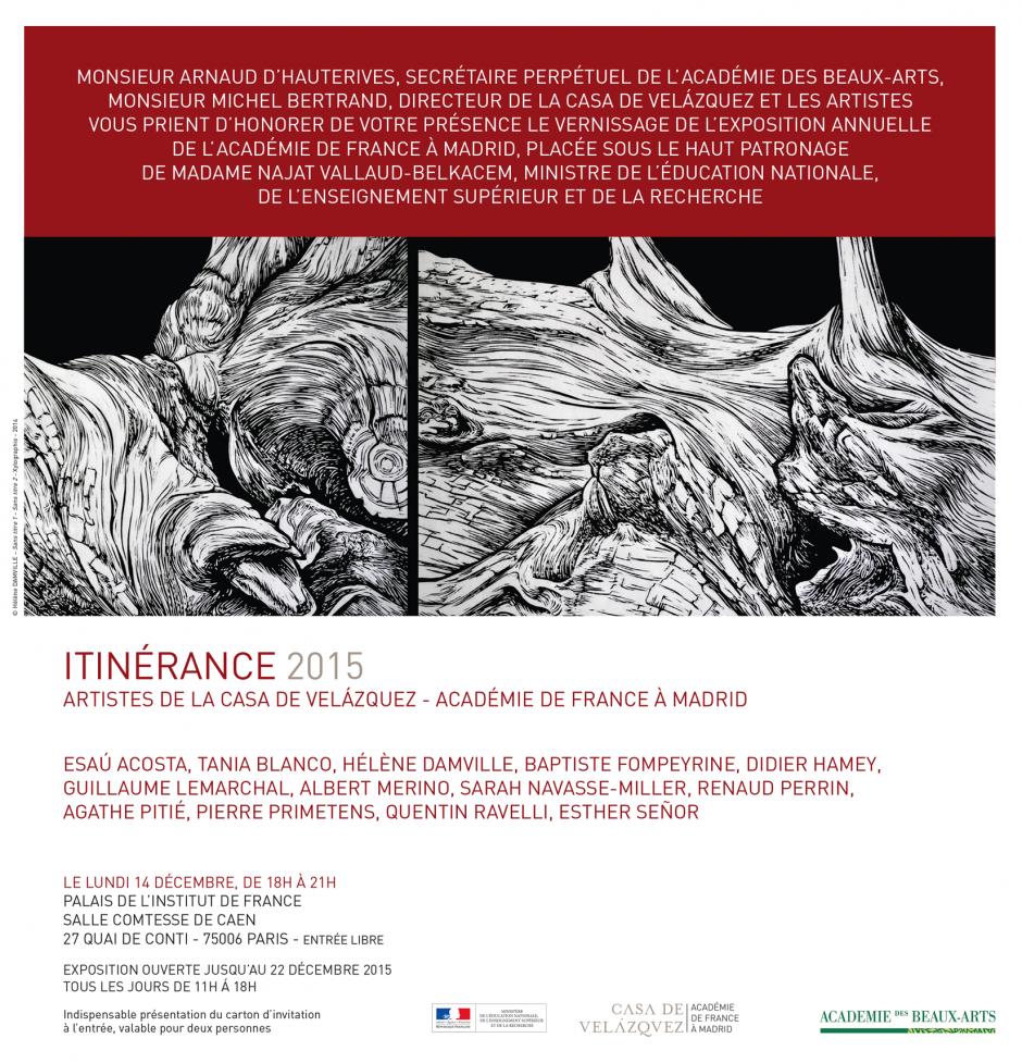 ITINERANCE 2015