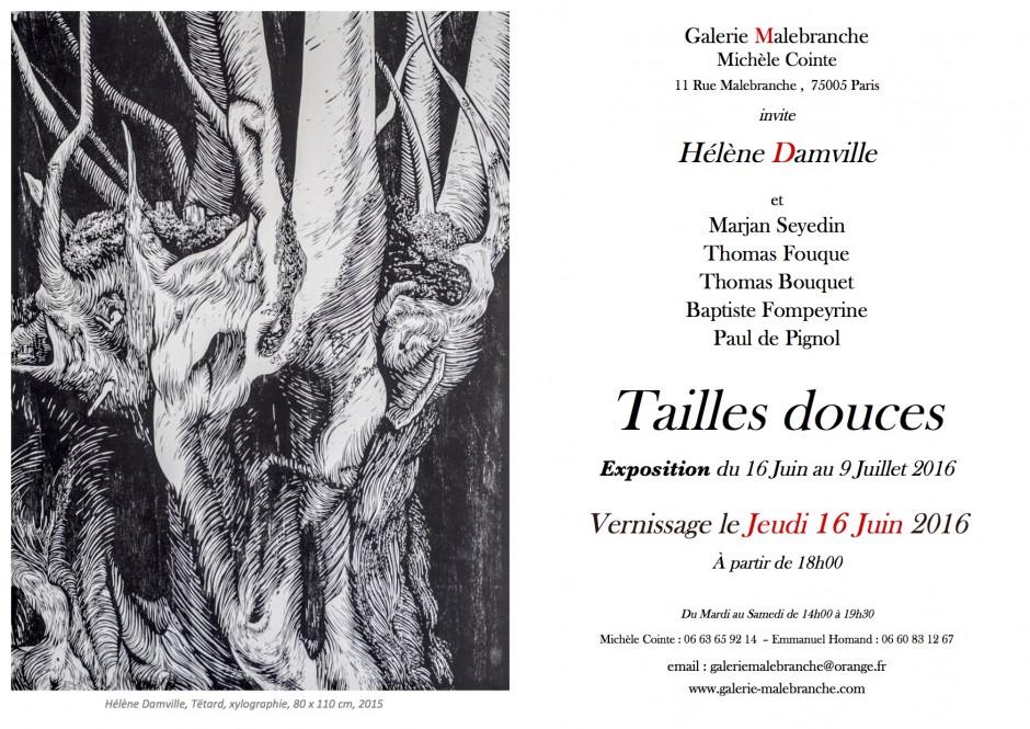 Helene Damville invit mail